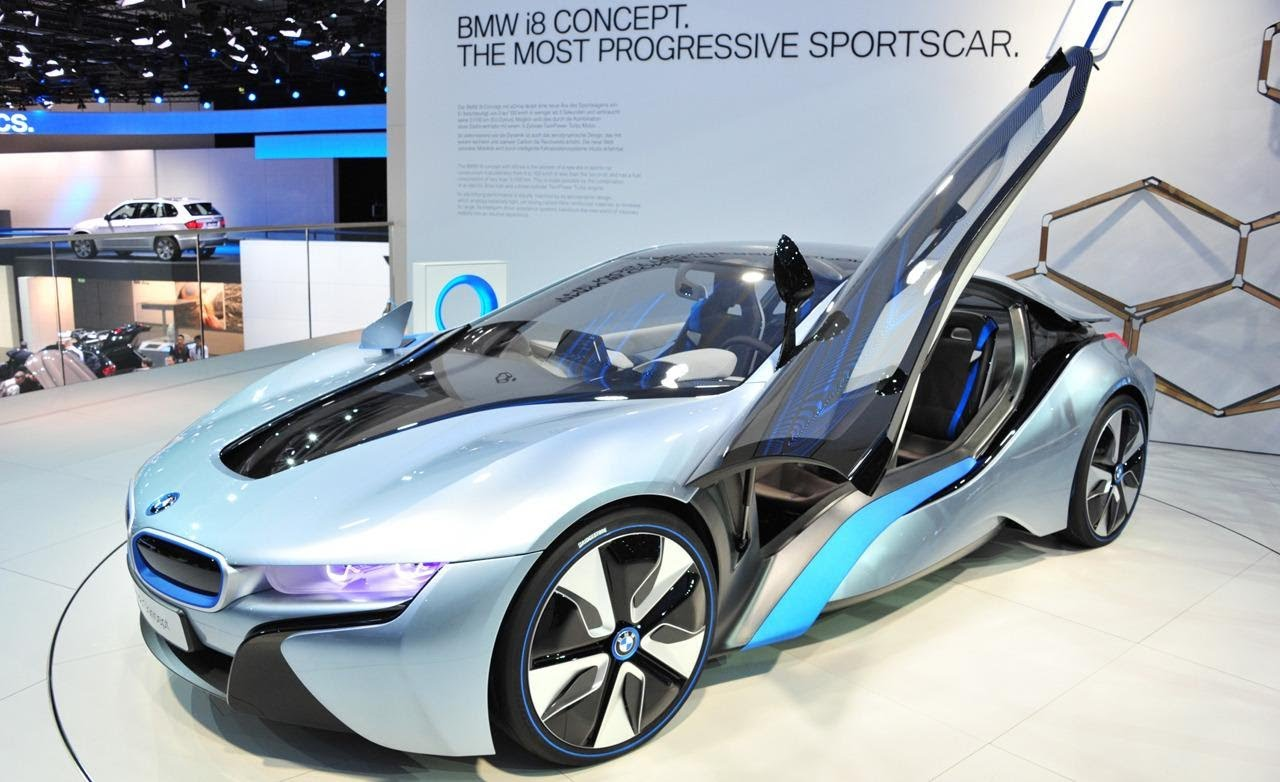 Bmw I8 Roadster Will Have Double The Electric Range Of The Current
